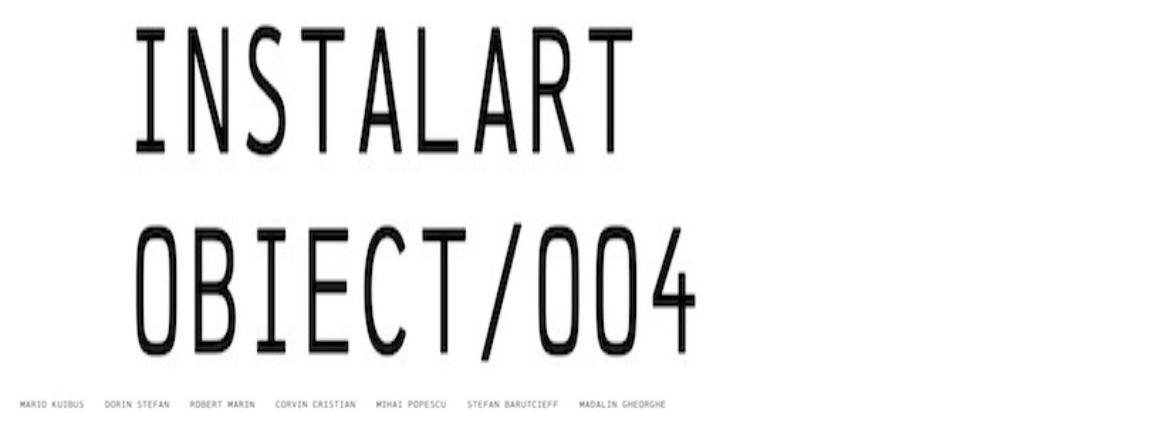 Instalart/ Obiect/ 004