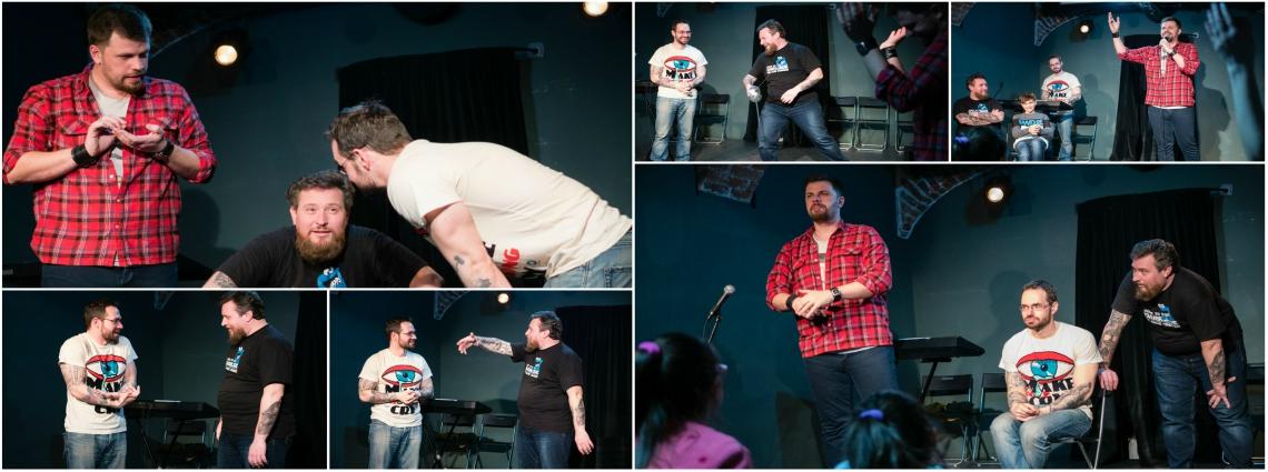 Un, doi, trei: Just Push Play - show de improvizație la Casa Artelor