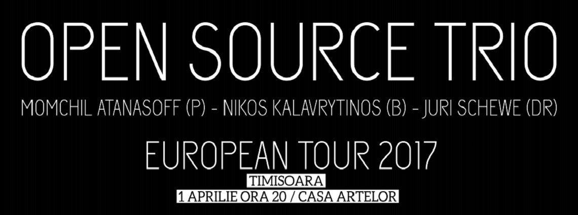 Open Source Trio - concert în Curtea cu castan